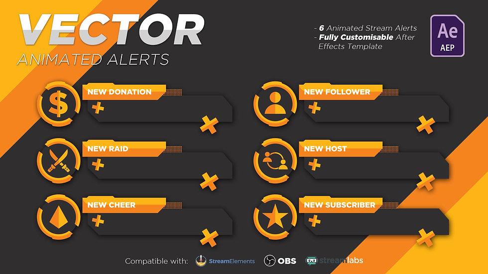 Vector (Orange) Alerts