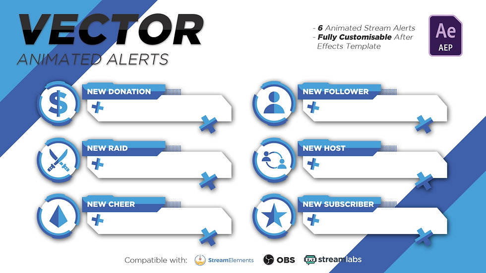 Vector (Blue) Alerts