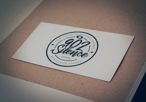 902 Silence | Logo Design
