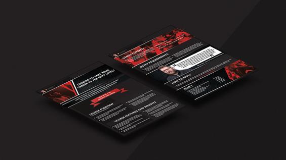 Harriers Esports | Print Design