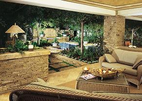 Aménagement extérieur terrasse