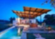 Aménagement extérieur pool house