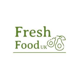 Fresh food UK のアボカドの絵が描かれたロゴ