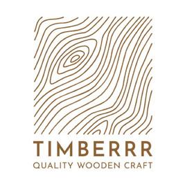 Logo da Timberr wooden craft