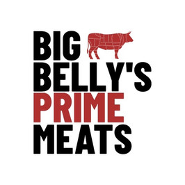 Big belly's prime meat のロゴ