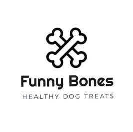 Логотип Funny Bones с изображением скрещенных костей