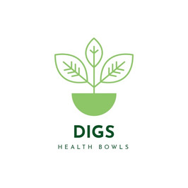 Digs health bowls のロゴ