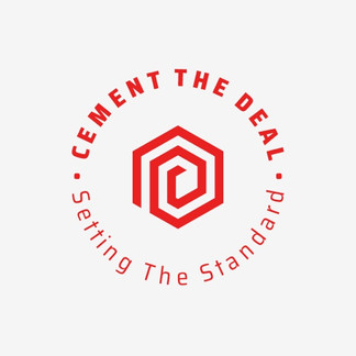Cement the deal logo