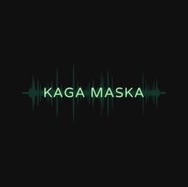 Logo von Kaga maska mit Soundwellen