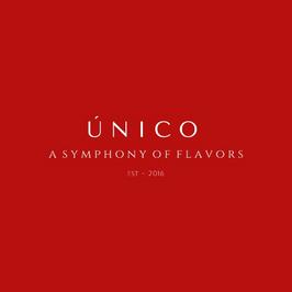 UNICO logo a symphony of flavors