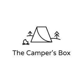 Логотип The Campers Box с изображением тента