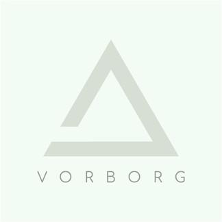 Vorborg logo featuring triangle