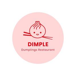 Dimple dumpling restaurant の小籠包の絵が描かれたロゴ