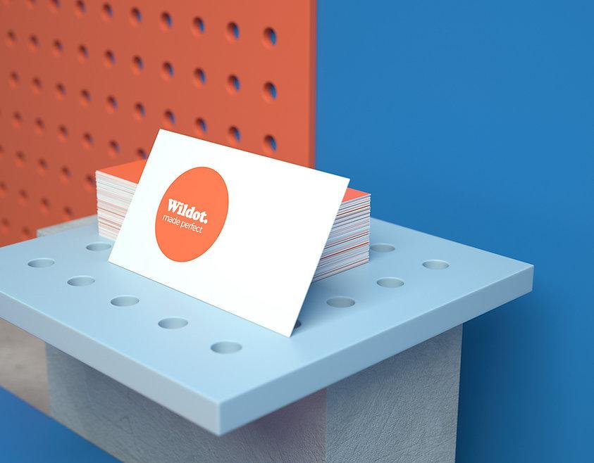 Biglietti da visita personalizzati con Wix