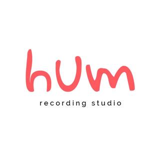 Hum recording studio logo