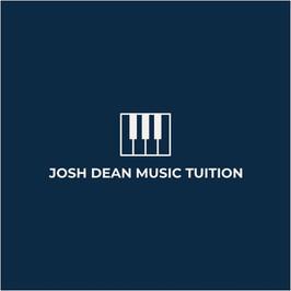 Logo mit Klaviertasten von Josh Dean Music Tuition