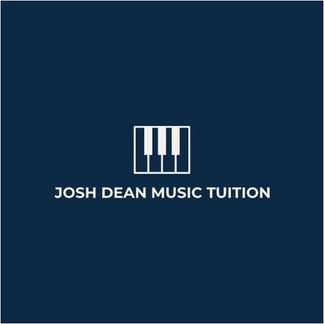 Josh Dean Music Tuition logo with piano keys