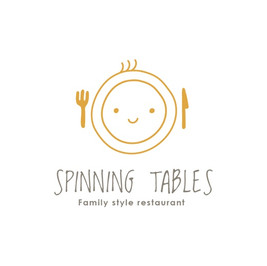 Spinning tables restaurant のロゴ