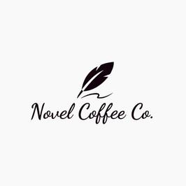 Novel coffee co のロゴ