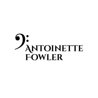 Antoinette Fowler logo with musical note