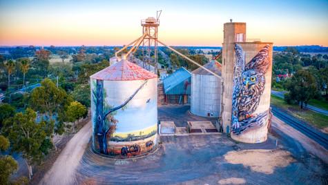 Goorambat silo - north