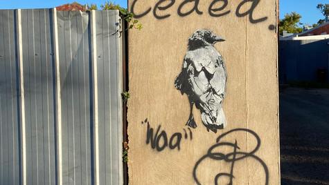Benalla Banksy