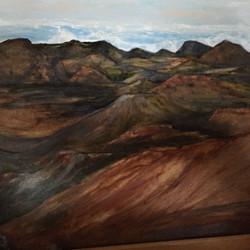 Volcano landcape