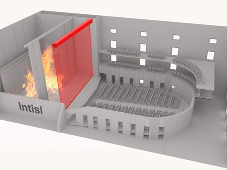 Invisible Fire Partitions