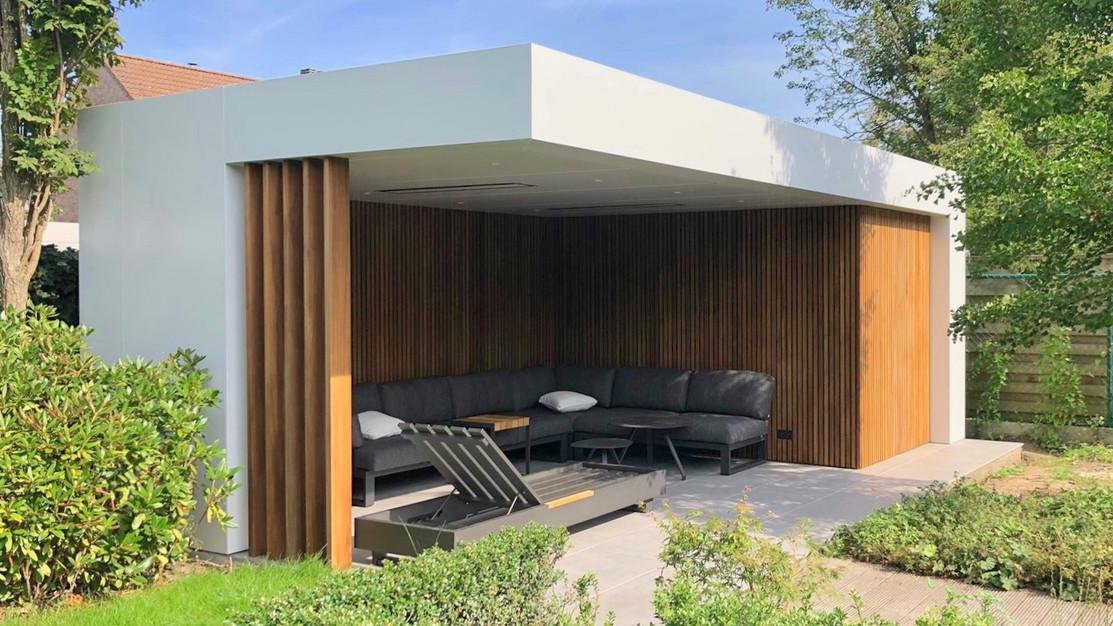 modern poolhouse outsit design platen .j