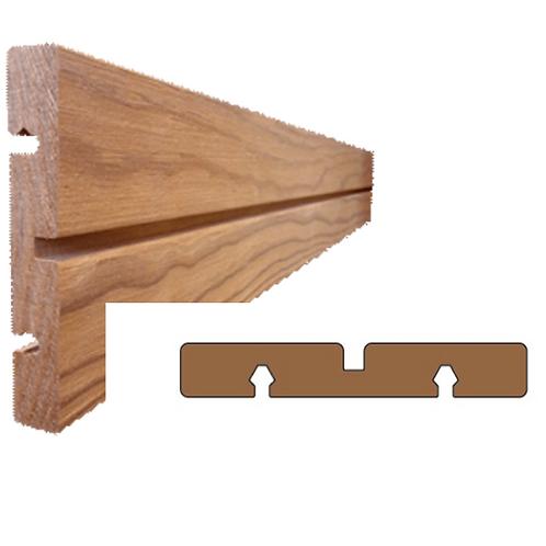 thermo clear pine geborsteld plank met groef (ANTA)
