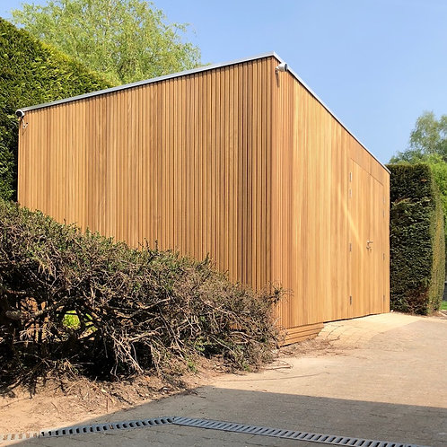hout voor tuinhuiswand thermo ayous triple 20