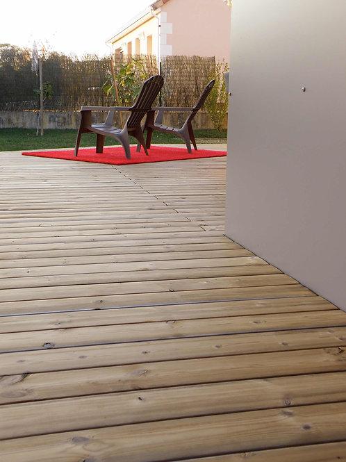 thermowood den ( Grad ) 2,6 x 11,9 cm x 300 cm