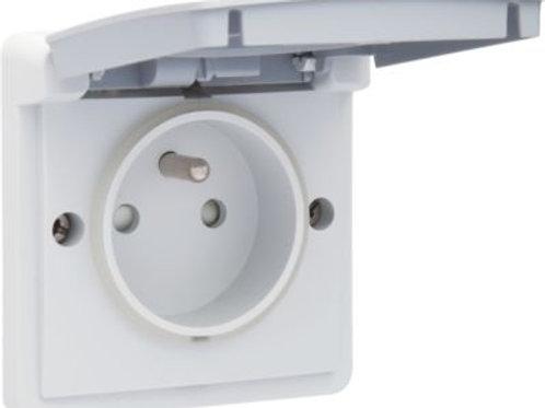 waterdicht stopcontact grijs
