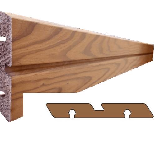 thermo clear pine geborsteld plank met groef (SILVA)
