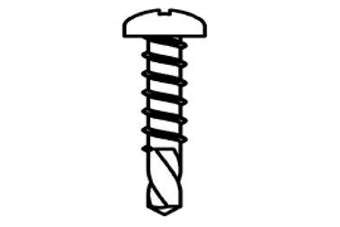 Zelftappende schroef 3,9 x 19 mm