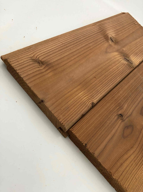 thermowood grenen planchet 18 mm /lm