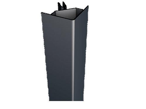 afwerkingsprofiel in gelakt aluminium voor buitenhoek