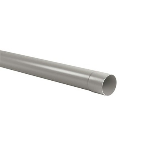 PVC buis grijs 2 m dia 80 mm