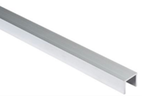 aluminium u profiel voor geleidingsrol