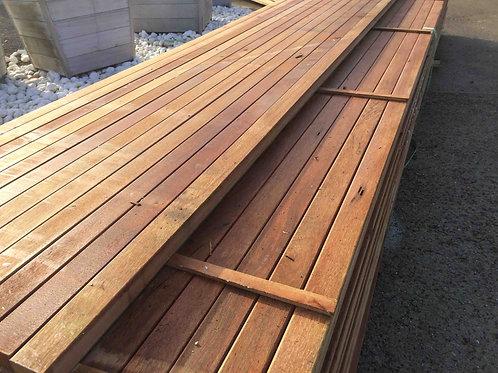 Hardhouten onderligger klasse 1 x 365 cm