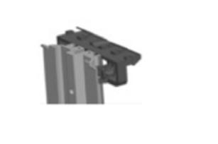 flat rail voor plint 1stuk