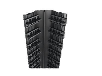 binnenhoeksteun met clipsen in aluminium /planken 52mm