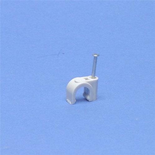 hechtklem rond kabel 9 mm /100 st