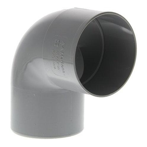 PVC regenwaterafvoer boicht 90° 80 mm