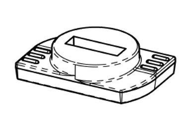 Klemstuk voor alu profielen, connector 90° en variabel verbindingstuk