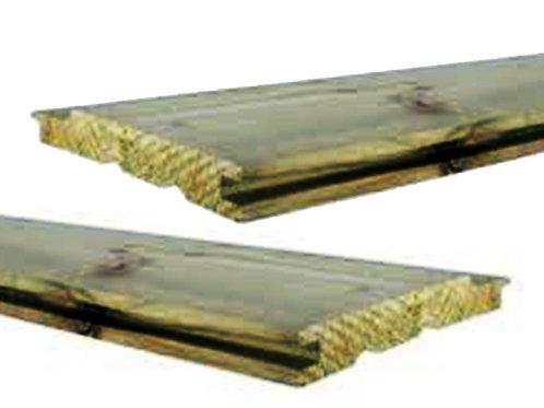geïmpregneerde grenen planchet / lopende meter