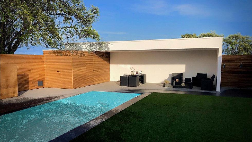 modern poolhouse crepi en thermowood .jp