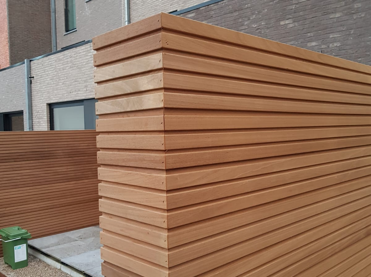 Thermowood ayous triple