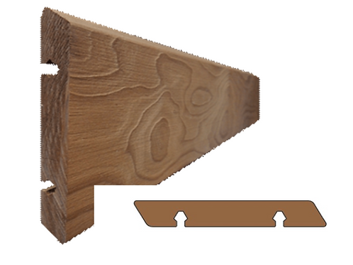 thermo clear pine geborsteld plank vol (SILVA)