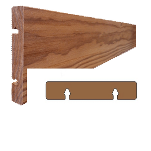 thermo clear pine geborsteld plank vol (ANTA)